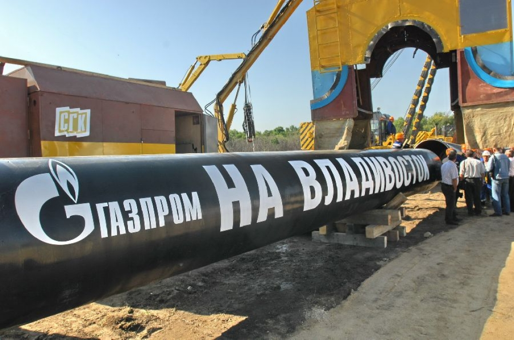 Газпром не планирует строить газопровод в Японию